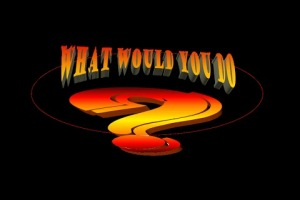 What Would YouDo? - A Poetry Play
