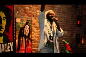 Ras Osageyfo: Bad Card,  at Bob Marley 70th Earth Strong Poetic tribute/